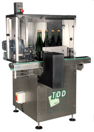Automatic blending machine for sparkling wines