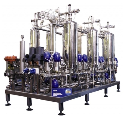 Automatic Microfiltration of wines