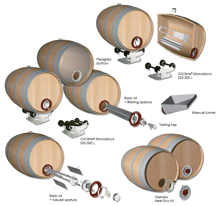 Vinification intégrale accessories