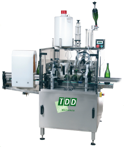 Automatic Disgorging machine EDDA 5 for sparkling wines